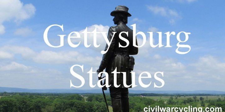 finding USA individual statues at Gettysburg