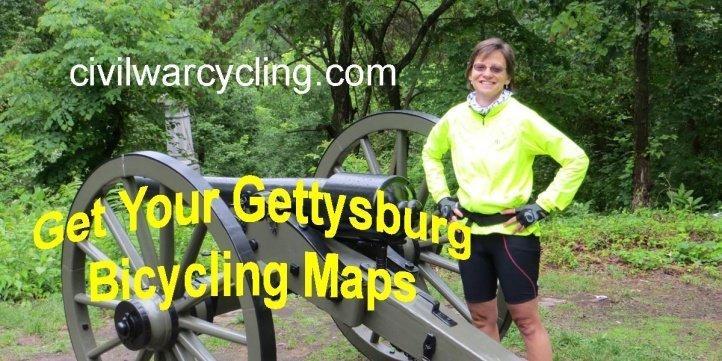 Gettysburg Bicycling Maps