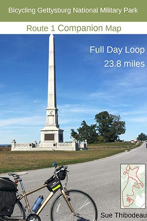 Gettysburg Route 1 Bike Map
