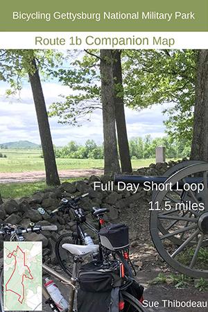 Gettysburg Route 1b Bike Map