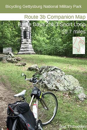 Gettysburg Route 3b Bike Map