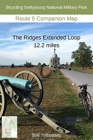Gettysburg Route 5 Bike Map