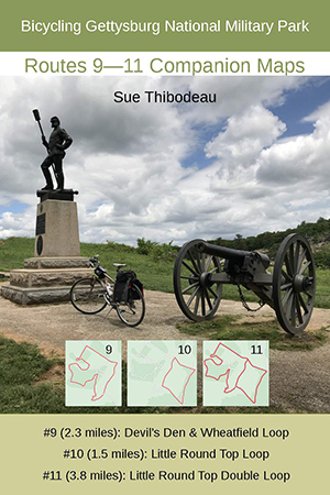 Gettysburg Routes 9–11 Bike Maps