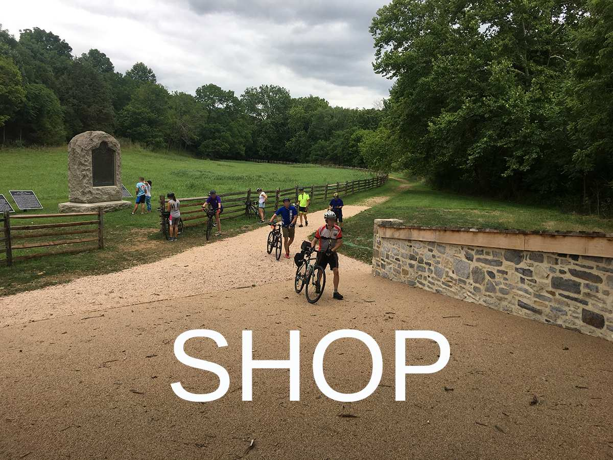 shop civil war cycling for maps and guidebooks