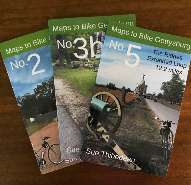 Maps to Bike Gettysburg